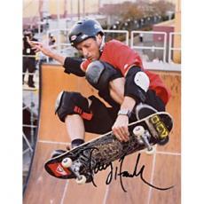 Tony Hawk Autographed Pro-Skateboarder Celebrity 8x10 Photo