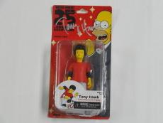 Tony Hawk Signed 2014 Neca The Simpsons 25 Greatest Guest Stars Figure  Moc