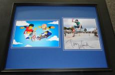 Tony Hawk Signed Framed 16x20 Photo Set AW The Simpsons