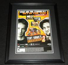 Tony Hawk's Underground 2 PS2 2004 Framed 11x14 ORIGINAL Advertisement