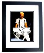 Tony Kanal Signed - Autographed No Doubt 8x10 inch Photo BLACK CUSTOM FRAME - Guaranteed to pass PSA or JSA