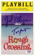 "Tony Randall & Jack Klugman Signed ""Rough Crossing"" Playbill (PSA/DNA)"