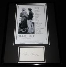 Tony Roberts Signed Framed 11x14 Annie Hall Poster Display