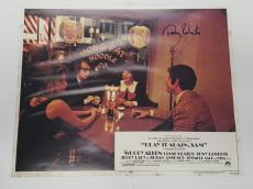 Tony Roberts Signed Play It Again Sam Lobby Card 11x14 Photo Jsa Cert #j98323
