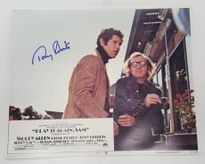 Tony Roberts Signed Play It Again Sam Lobby Card 11x14 Photo Jsa Certificate