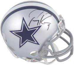 Tony Romo Dallas Cowboys Autographed Riddell Mini Helmet