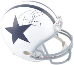 Dallas Cowboys Tony Romo Autographed Helmet - Mounted Memories