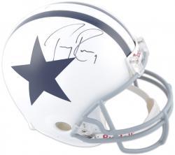 Dallas Cowboys Tony Romo Autographed Helmet
