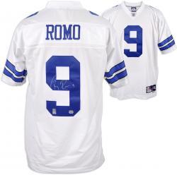 Dallas Cowboys Tony Romo Autographed Reebok White EQT Jersey