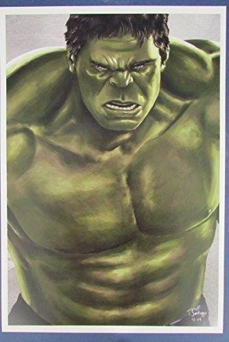 Tony Santiago The Incredible Hulk MARVEL 13x19 Print 127143