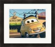 Tony Shalhoub autographed 8x10 photo (Cars Luigi) #SC1 Matted & Framed
