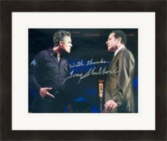 Tony Shalhoub autographed 8x10 photo (The Price Broadway Play) #SC2 Matted & Framed