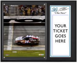 "Tony Stewart 2012 Coke Zero 400 Sublimated 12"" x 15""""I Was There"" Photo Plaque - Mounted Memories"