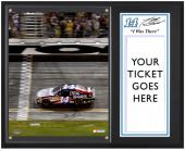 "Tony Stewart 2012 Coke Zero 400 Sublimated 12"" x 15"" ""I Was There"" Photo Plaque - Mounted Memories"