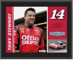 "Tony Stewart 10"" x 13"" Sublimated Plaque - Mounted Memories"