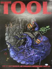 Tool (4) Keenan, Jones, Carey +1 Signed 18x24 Poster LE #95/500 BAS #A85700