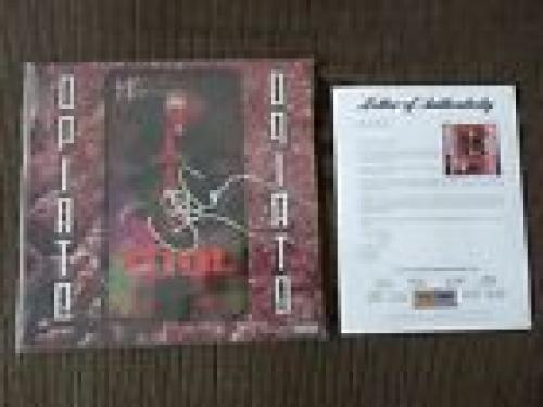 Tool Opiate Band Signed Autographed LP Album x3 Maynard Dannt Adam PSA Certified