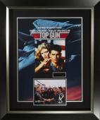 Top Gun Tom Cruise & Val Kilmer Signed Movie Poster Fram