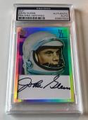Topps 75 Astronaut Senator John Glenn Signed Custom CARD #d 1/1 PSA/DNA Slabbed