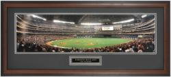 Toronto Blue Jays Sky Dome Framed Unsigned Panoramic with Suede Matte