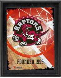 "Toronto Raptors Team Logo Sublimated 10.5"" x 13"" Plaque"