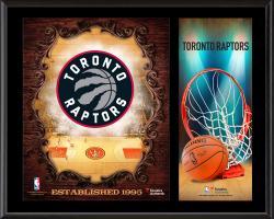 "Toronto Raptors Sublimated 12"" x 15"" Team Logo Plaque"