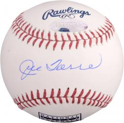 Joe Torre New York Yankees Autographed HOF Logo Baseball - Mounted Memories