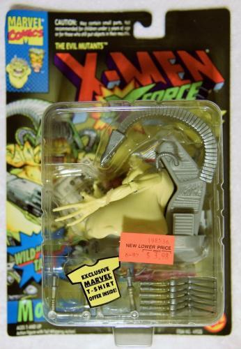 Toy Biz 1994 X-Men Evil Mutants X-Force MOJO Wild Whip Tail