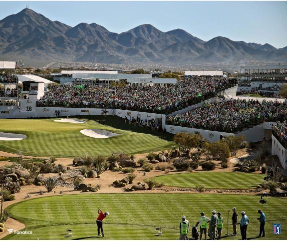 TPC Pheonix Hole #16 PGA Tour Photograph