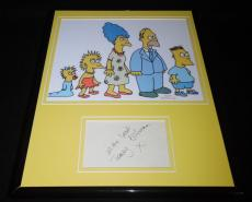 Tracey Ullman Signed Framed 11x14 Photo Display The Simpsons