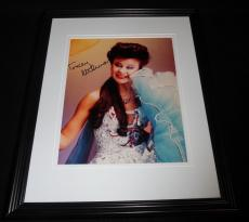 Tracey Ullman Signed Framed 8x10 Photo The Simpsons Tracey Takes On