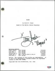 Traci Lords 'Raquel' Signed Authentic Autographed Blade Script (PSA/DNA) #T49427