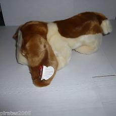 Tracker The Basset Hound Dog Ty Beanie Buddy Baby Plush Stuffed Animal