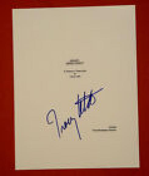Tracy Letts Signed Autographed August Osage County Full Movie Script