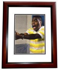 Tracy Morgan Signed - Autographed 8x10 inch Photo MAHOGANY CUSTOM FRAME - Guaranteed to pass PSA or JSA