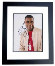 Tracy Morgan Signed - Autographed Comedian 8x10 inch Photo BLACK CUSTOM FRAME - Guaranteed to pass PSA or JSA