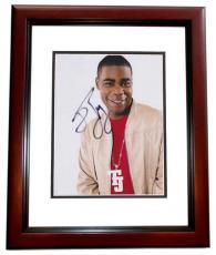 Tracy Morgan Signed - Autographed Comedian 8x10 inch Photo MAHOGANY CUSTOM FRAME - Guaranteed to pass PSA or JSA
