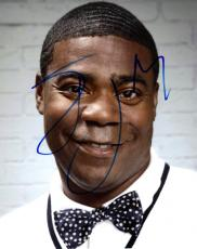 Tracy Morgan Autographed Signed Bowtie Photo AFTAL