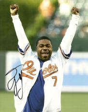 TRACY MORGAN COMEDIAN SIGNED AUTO 8x10 PHOTO W/COA ORIOLES