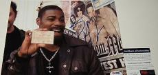 Tracy Morgan 'cop Out' Saturday Night Live' Signed 8x10 Photo Psa/dna Coa V73941