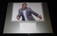 Tracy Morgan Signed Framed 11x14 Photo Display SNL 30 Rock Crank Yankers