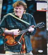 TRAFFIC Steve Winwood signed 11 x 14, Higher Love, Roll with it, PSA/DNA, Proof