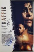 TRAFFIK Cast (4) Signed 11x17 Photo Taylor Goss Epps Alonso (B)~ Beckett BAS COA