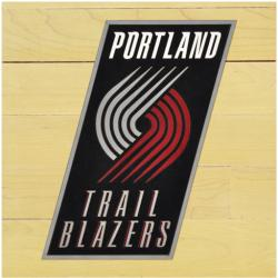 "NBA Portland Trail Blazers 12"" x 12"" Logo Floor Piece"