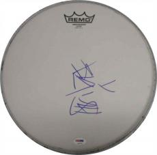 Travis Barker Blink 182 Autographed Signed Drumhead Certified Authentic PSA/DNA