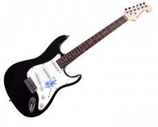Travis Barker Blink 182 Autographed Signed Guitar AFTAL