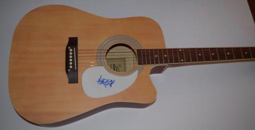 Travis Barker Signed Autographed Full Size Acoustic Guitar BLINK 182 COA