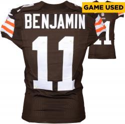 Travis Benjamin Cleveland Browns Brown Game-Used Jersey November 16, 2014 vs. Houston Texans