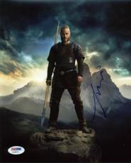 Travis Fimmel Vikings Signed 8x10 Photo Autographed Psa/dna #y18870