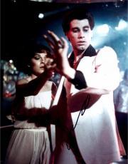 John Travolta Autographed 11'' x 14'' Holding Hands Photograph